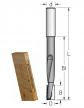 Фреза для выборки глубоких пазов под замки 16x25x120x170x16 WPW DT16001