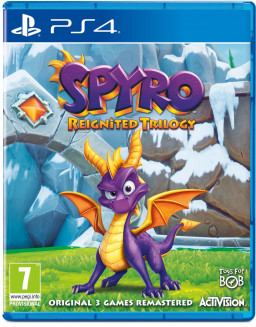 Игра Spyro Reignited Trilogy (PS4)