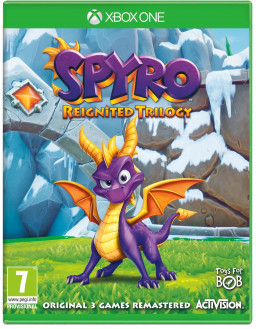 Игра Spyro Reignited Trilogy (Xbox One)
