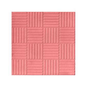 Плитка тротуарная Паркет (красная), 300х300х30 мм