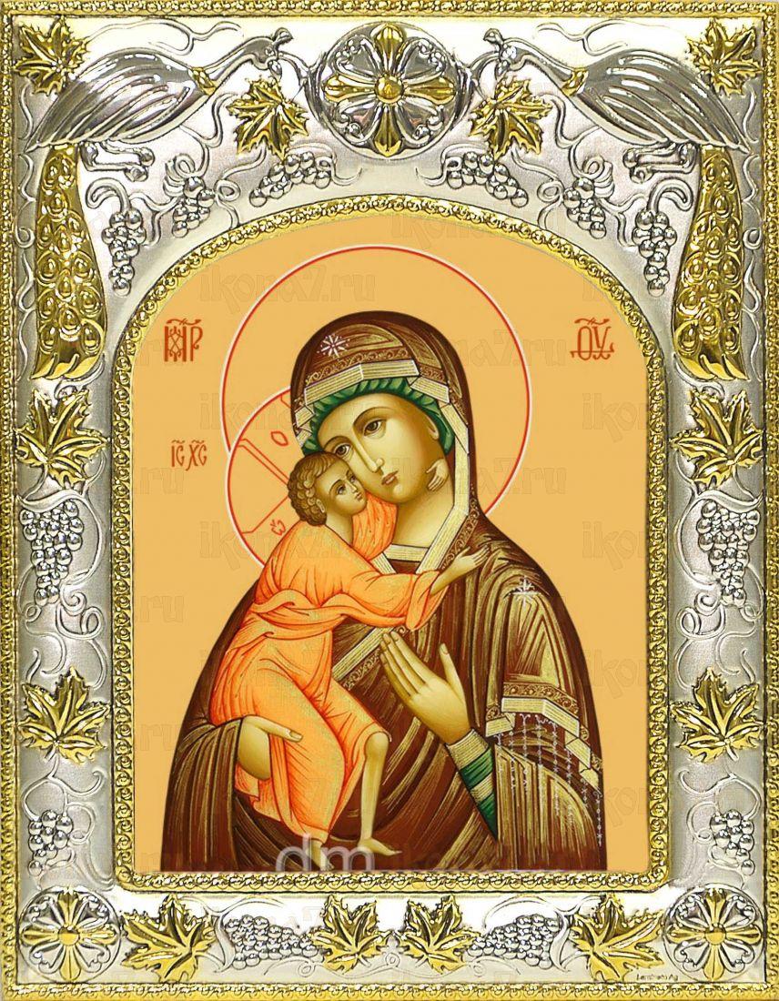 Владимирская икона Божией матери (14х18)
