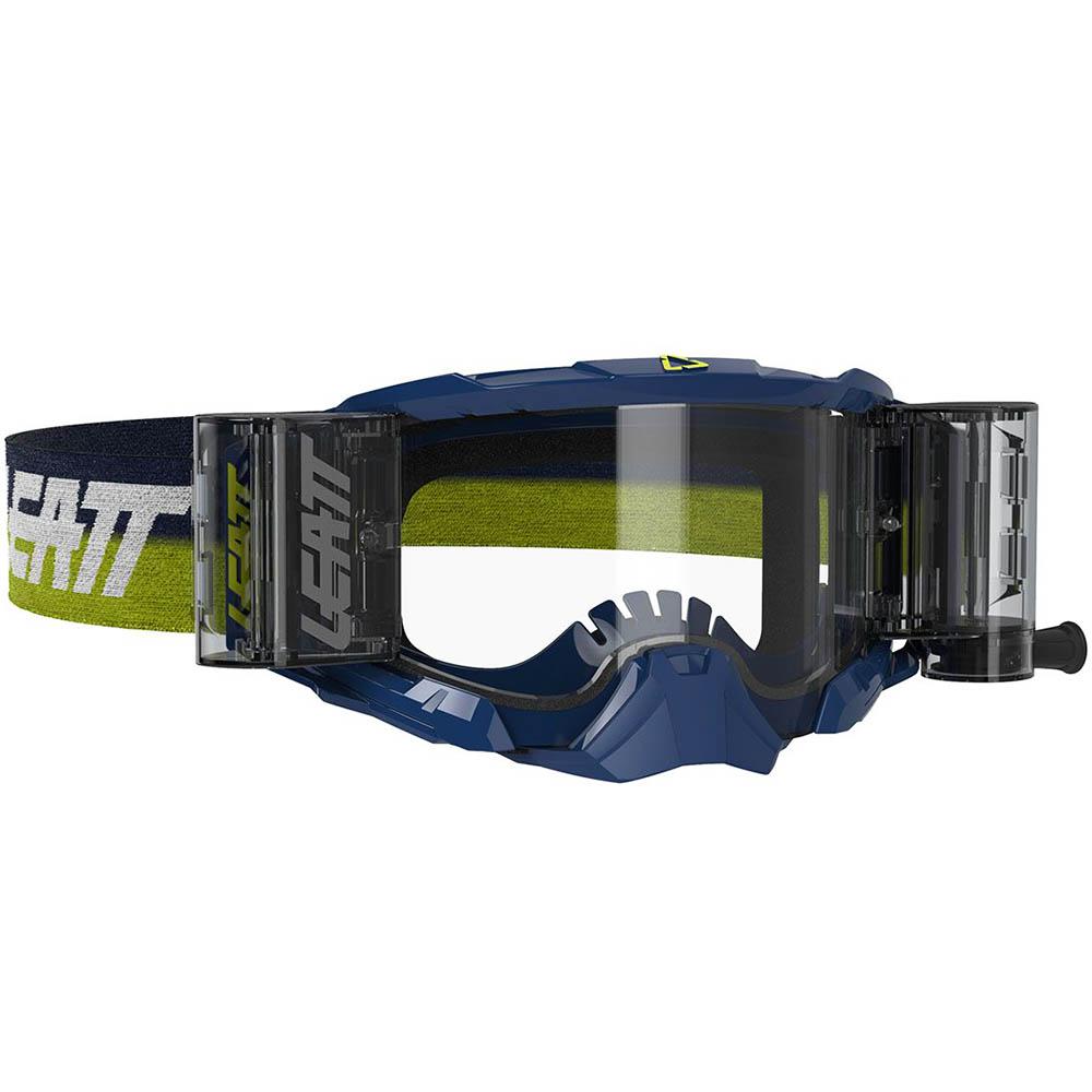 Leatt Velocity 5.5 Roll-Off Ink/Clear 83% очки для мотокросса и эндуро с системой грязеочистки