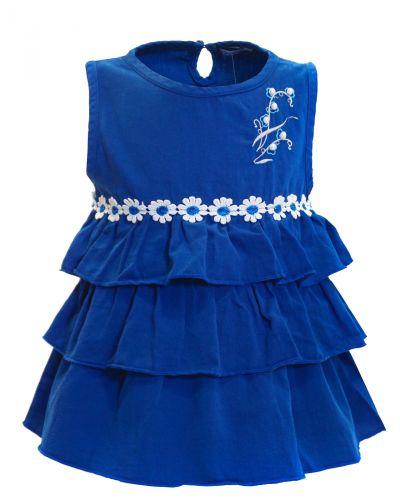 Блузка для девочки с рюшками 2-5 лет Bonito OP833B