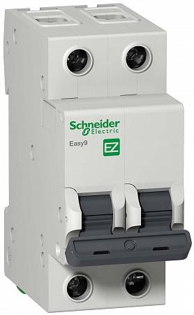 SE EASY 9 Автоматический выключатель 2P 16A (C)
