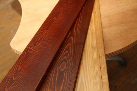 Покраска добора деревянного из строганной доски в 2 слоя пог.м.