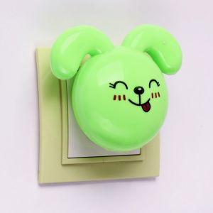 Ночник «Кролик», LED, 7 см, 4 W (220 V), пластик, МИКС