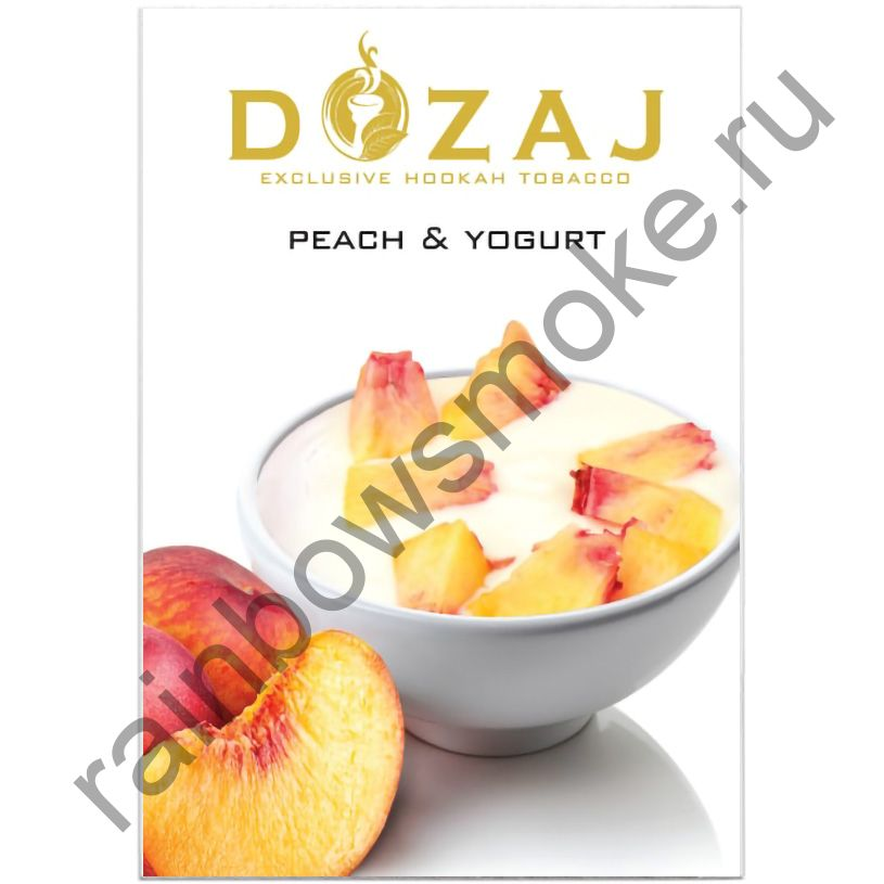 Dozaj 50 гр - Peach & Yogurt (Персик с Йогуртом)