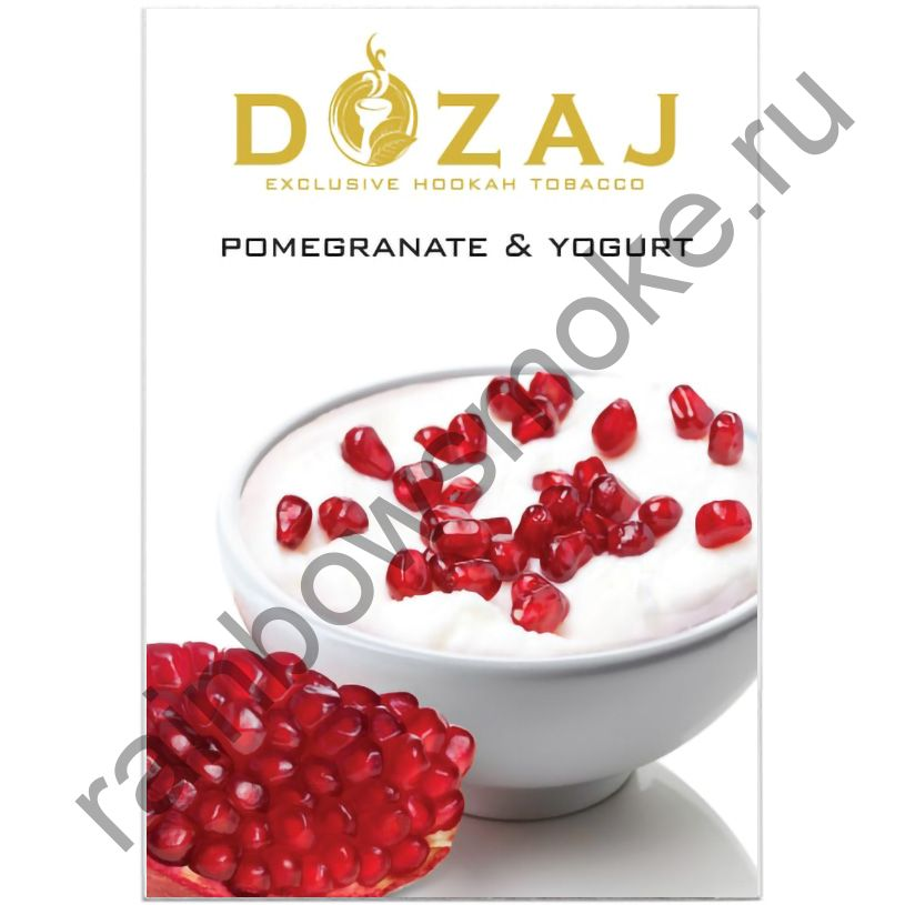 Dozaj 50 гр - Pomegranate & Yogurt (Гранат с Йогуртом)