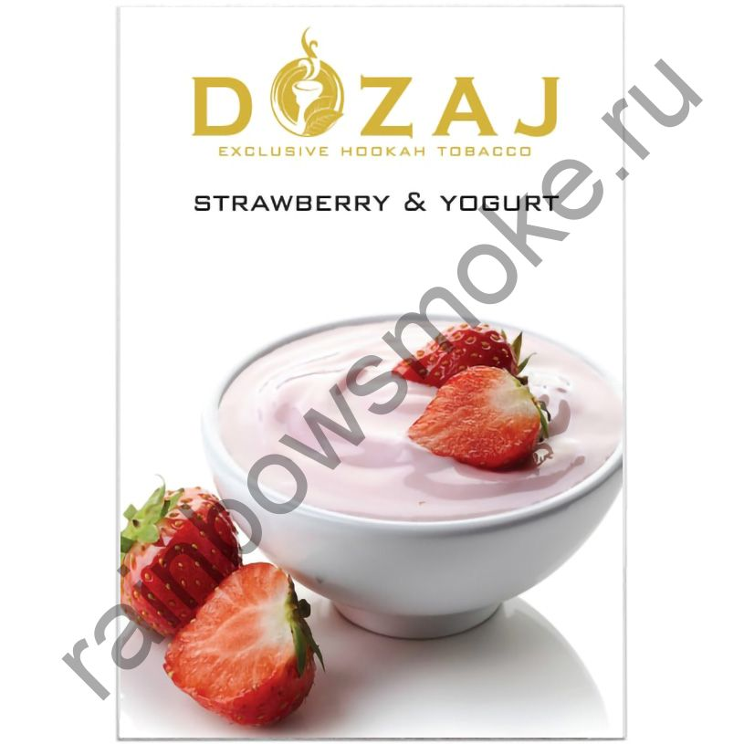 Dozaj 50 гр - Strawberry & Yogurt (Клубника с Йогуртом)