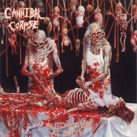 """CANNIBAL CORPSE """"Butchered At Birth"""" 1191/2003"""