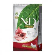 N&D Prime Dog GF Chicken & Pomegranate Adult Mini Курица, гранат. Полнорационный корм для взрослых собак. (2,5 кг)