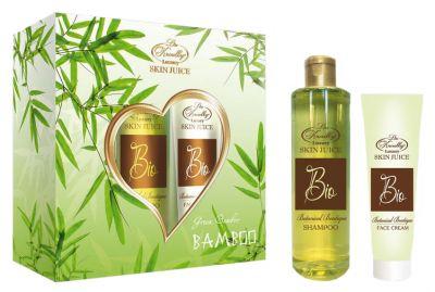 Liss Kroully Skin juice Парфюмерно-косметический подарочный набор BIO-1702 Botanical Boutique Гель для душа 260 мл + Крем для лица 100 мл