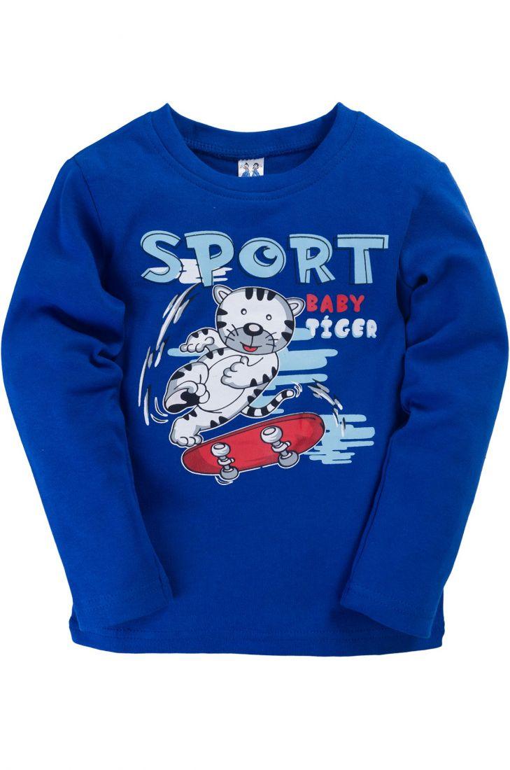 Джемпер для мальчика Sport синего цвета