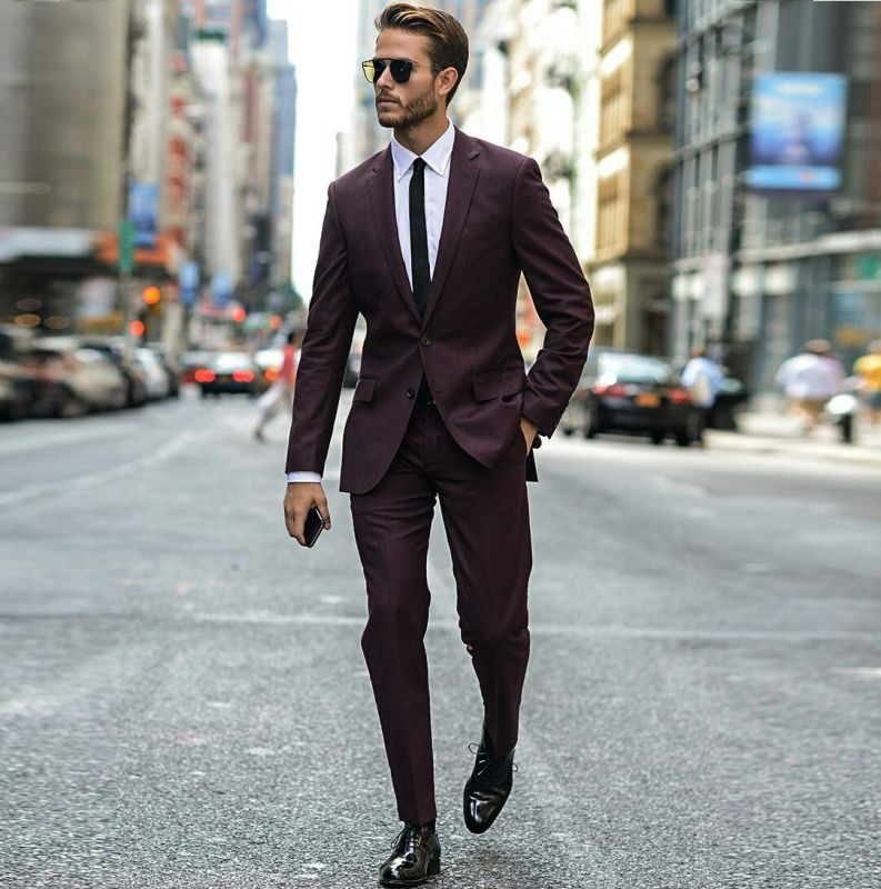 Бордовый костюм Кристоф
