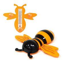 Термометр оконный на присосках Пчела