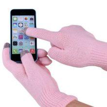 Перчатки для сенсорных экранов, Розовый