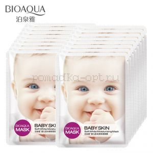 Маска для кожи вокруг глаз успокаивающая BIOAQUA Baby Skin