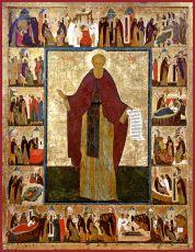Икона Кирилл Белозерский преподобный