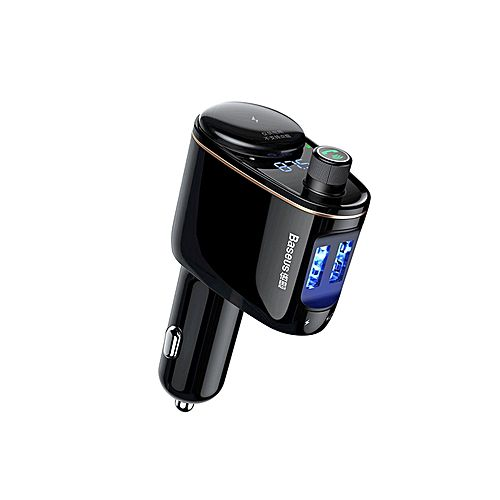 Автомобильно зарядное устройство Baseus Locomotive Bluetooth MP3 Vehicle Charger Черное