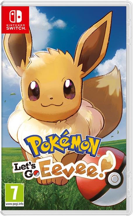 Игра Pokemon Let's Go Eevee! (Nintendo Switch)