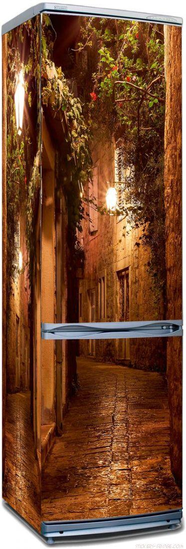 Наклейка на холодильник -  Во времена Дон Кихота
