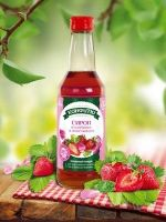 Сироп из клубники с лепестками роз Конфитю Царство Ароматов 250 мл