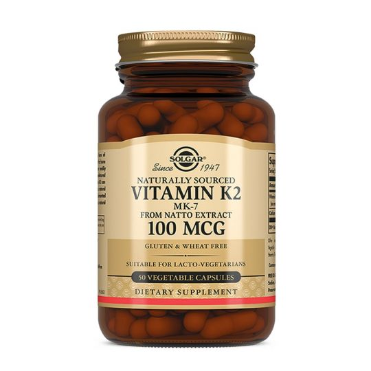 Витамин К-2, 100 мкг, 50 капсул