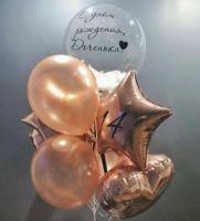 Фонтаны из шаров с Баблс шаром 2