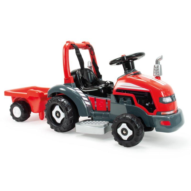 Электрический трактор с прицепом 2in1 6V Injusa 1505