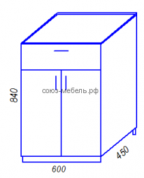 Кухня Тиса H600-1Я