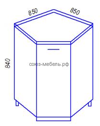 Модульная кухня Эра HY850