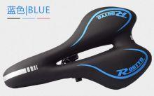 Стильное мягкое седло для велосипеда черное