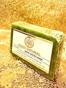 НАТУРАЛЬНОЕ МЫЛО КХАДИ НИМ (KHADI PURE NEEM SOAP), 125 гр