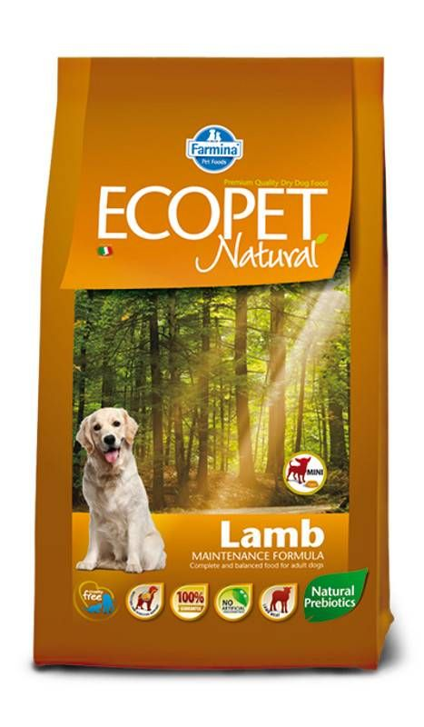 Farmina ECOPET NATURAL д/с MINI ягненок