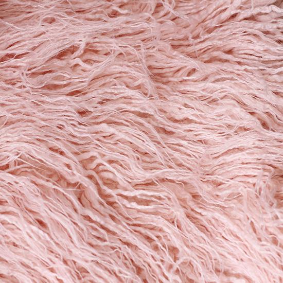 Длинноворсовый мех Розовый  50х37 УЦЕНКА