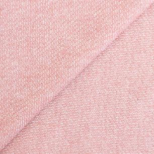Лоскут трикотажной ткани футер с люрексом Розовый 50х37
