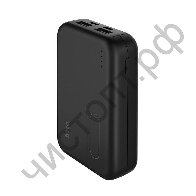 Моб. заряд. устрой. HOCO J38 10000mAh 2.0A 1USB/Type-C черный