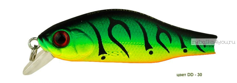 Воблер Silver Stream Combek S 35S 35 мм / 2 гр / Заглубление: 0,4 - 0,6 м / цвет: DD-30