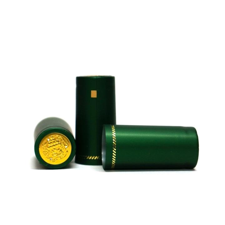 Термоусадочный колпачок зеленый (матовый) (10 шт)