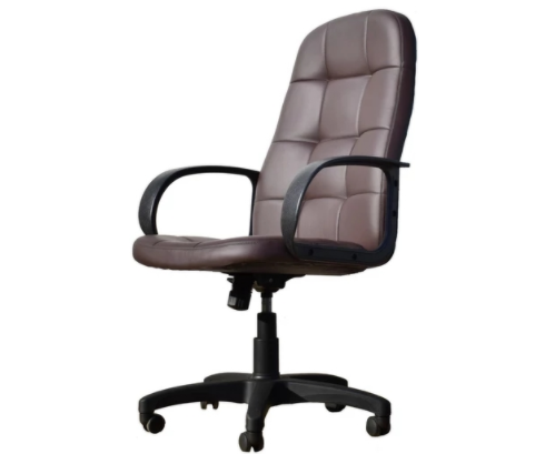 Кресло OFFICE-LAB КР02 / ЭКО3 Шоколад