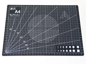 `Коврик для резки, мат непрорезаемый, цвет черный размер A4 30*22 см, толщина 3 мм