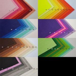 Фетровые пяточки 30мм, с прорезями, цвет № 44 (1уп = 243шт)