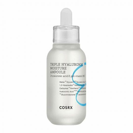 CosRX Сыворотка для глубокого увлажнения с гиалуроновой кислотой Triple Hyaluronic Moisture Ampoule, 40 мл