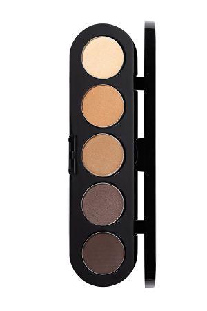 Make-Up Atelier Paris Palette Eyeshadows T26 Smokey brown Палитра теней для век №26 Smoky коричневые (дымчато-коричневые тона)