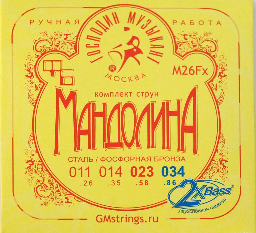 ГМ M26Fx Струны для Мандолины