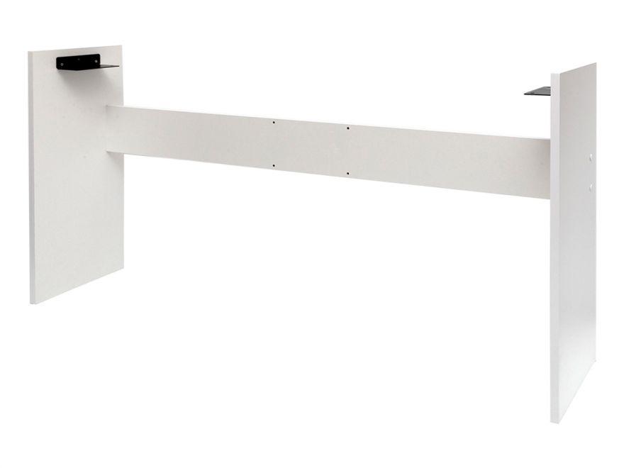 Деревянная белая стойка для пианино Yamaha P