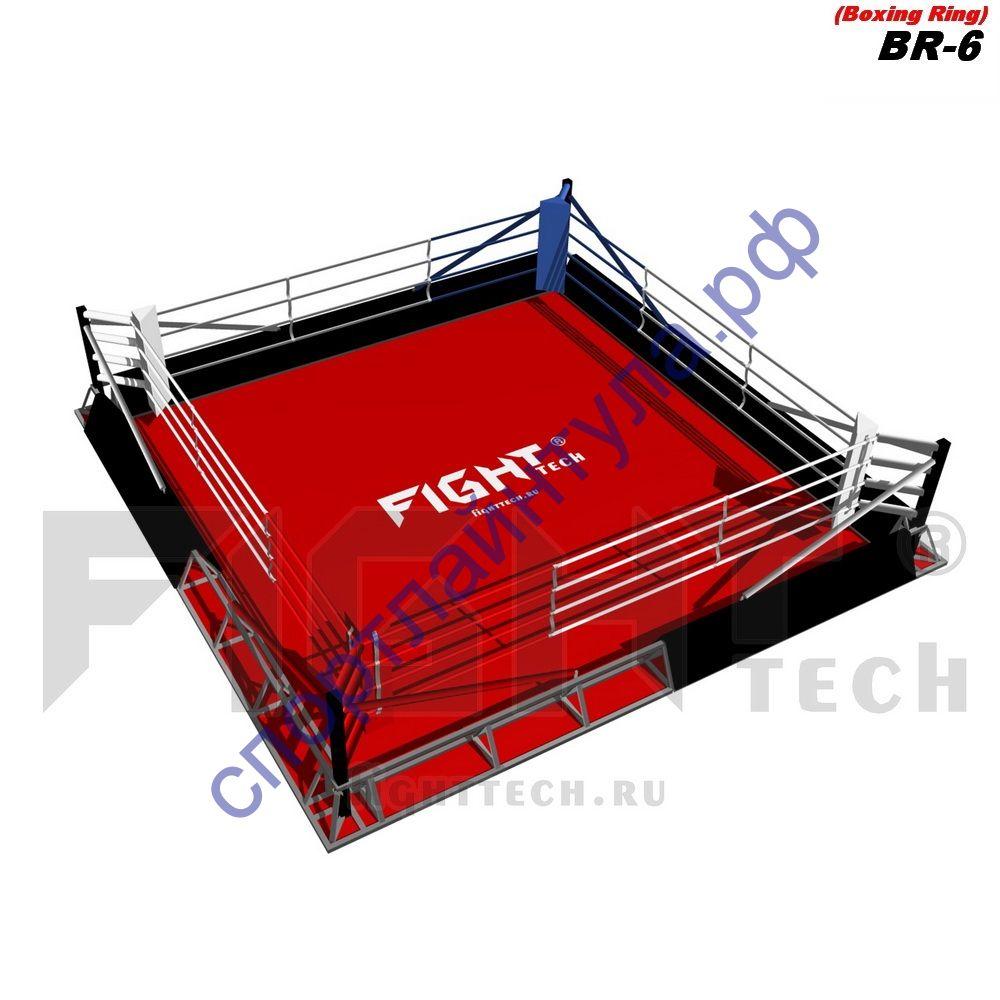 Боксерский ринг в силовой раме