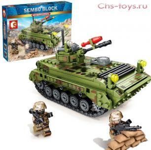 Конструктор SEMBO BLOCK Боевая машина пехоты Тип 86 105530 376 дет