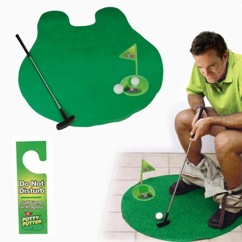 Гольф для туалета Toilet Golf