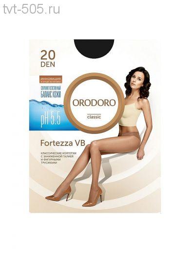Колготки Orodoro 20d Fortezza VB классические с заниженной талией